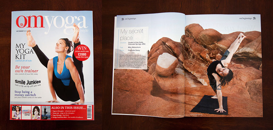 OM Yoga Magazine with Mike Matsumura