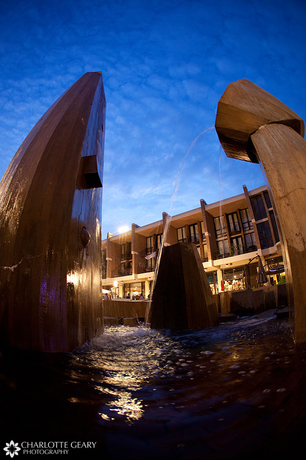 The Children's fountain at Lake Anne Plaza in Reston, Virginia | Photo by Charlotte Geary