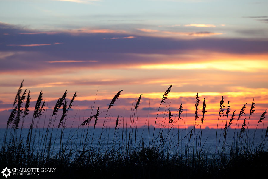 Sunrise over the ocean in Corolla, NC   Photo by Charlotte Geary