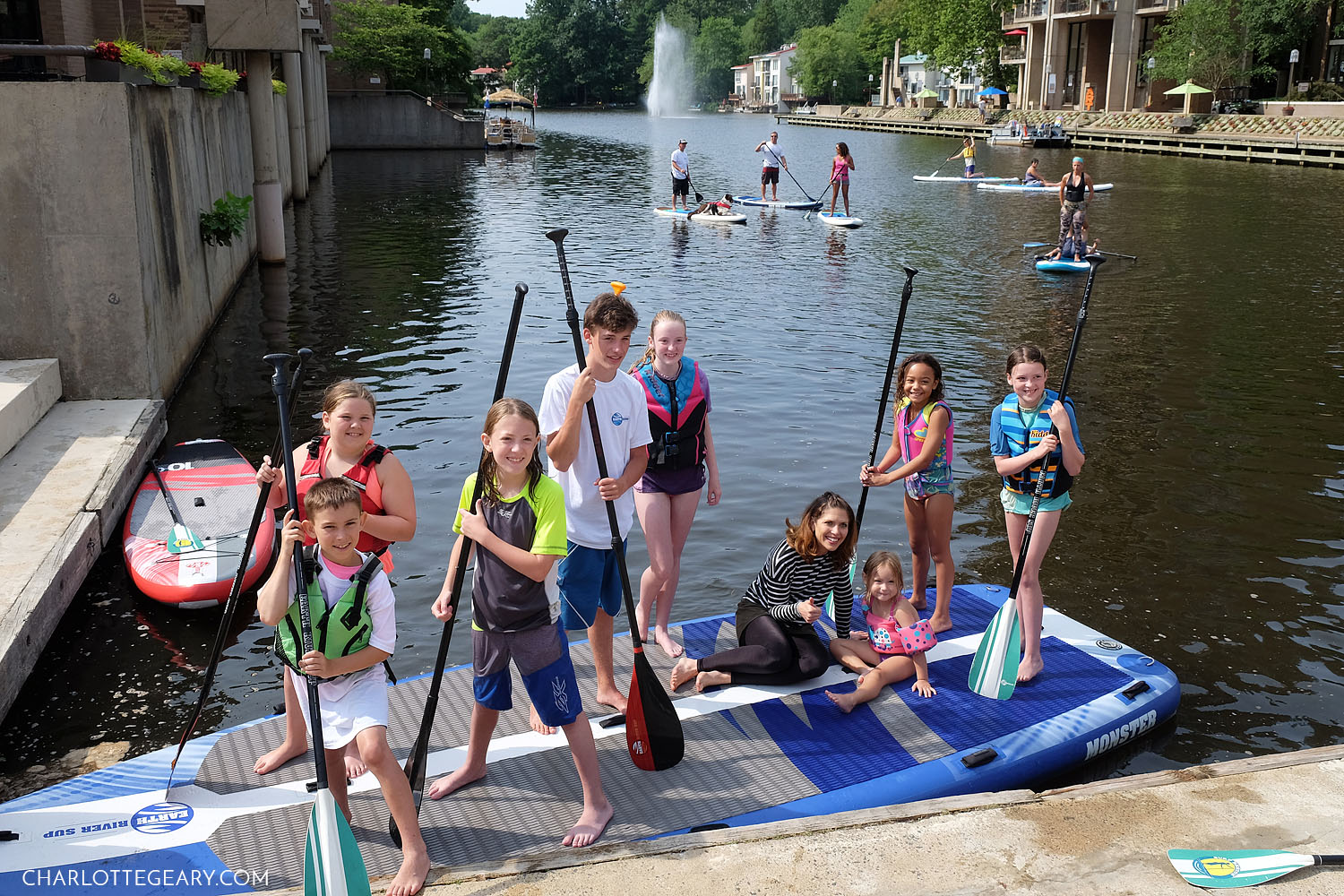 Surf Reston paddleboard party