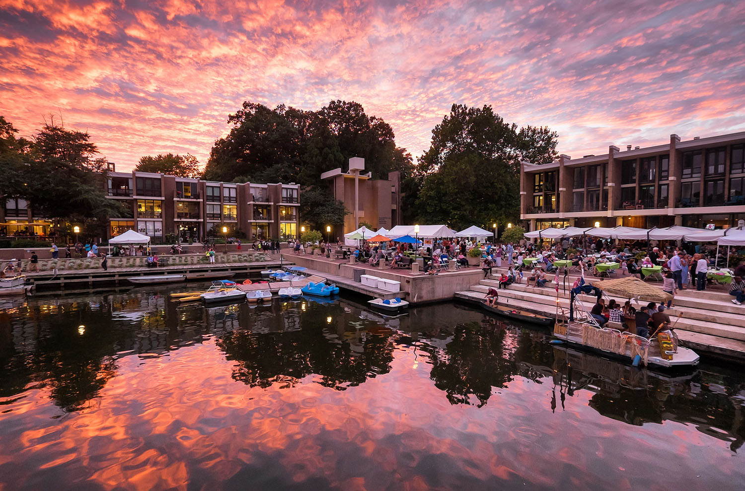 Lake Anne Jazz Festival in Reston, Virginia