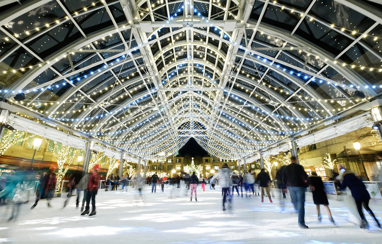 Reston Town Center ice skating rink
