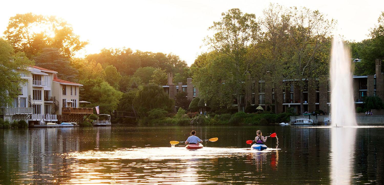 Summer at Lake Anne       Reston, Virginia