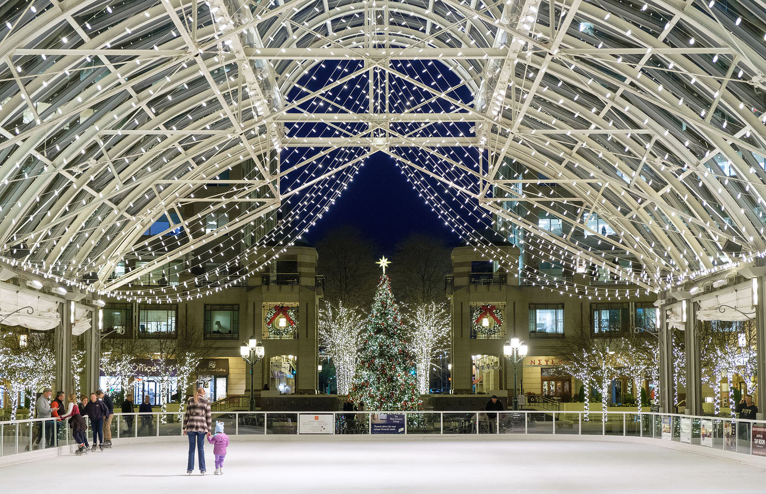 Reston Town Center ice rink | Reston, Virginia
