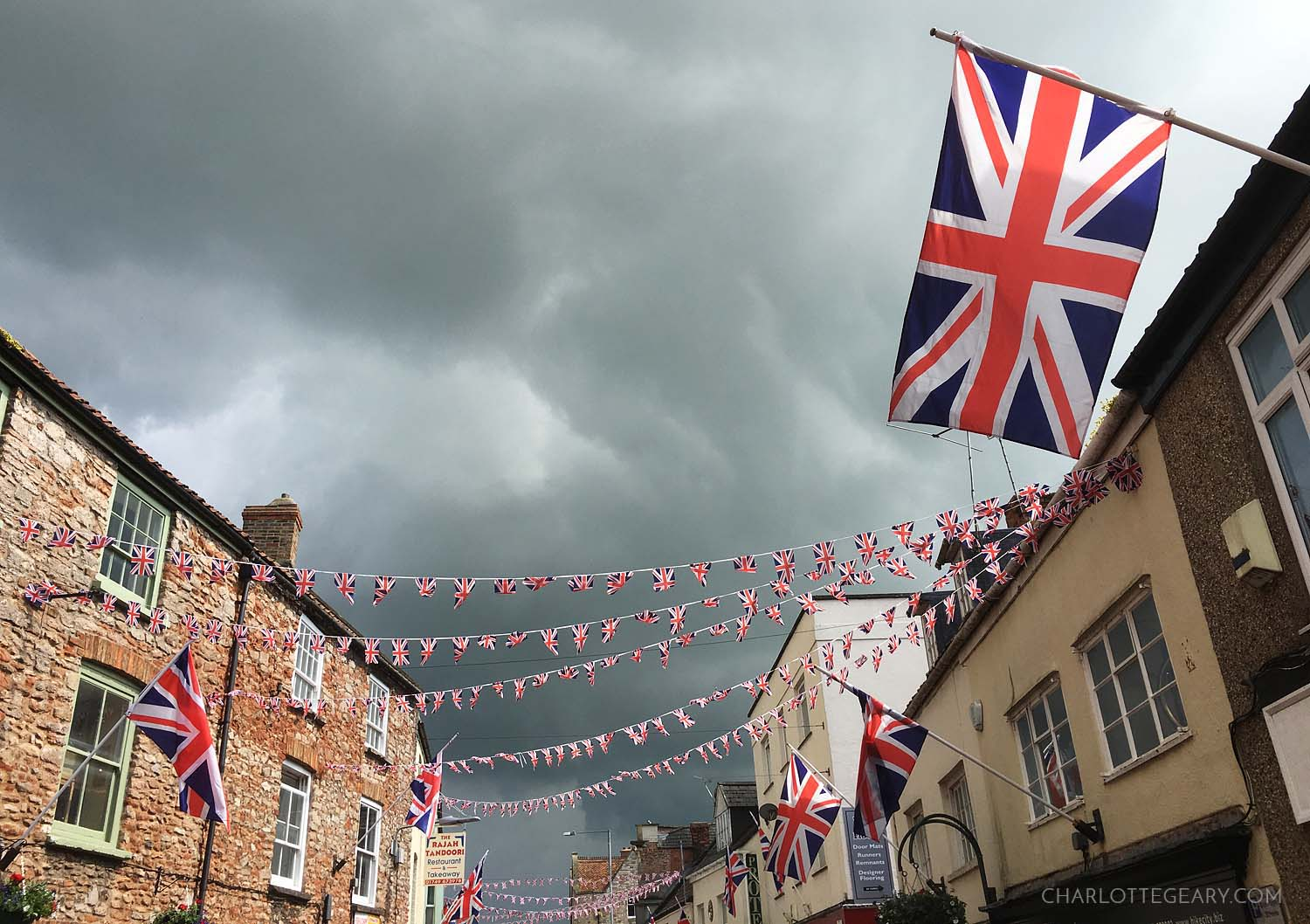 Flags in Wells