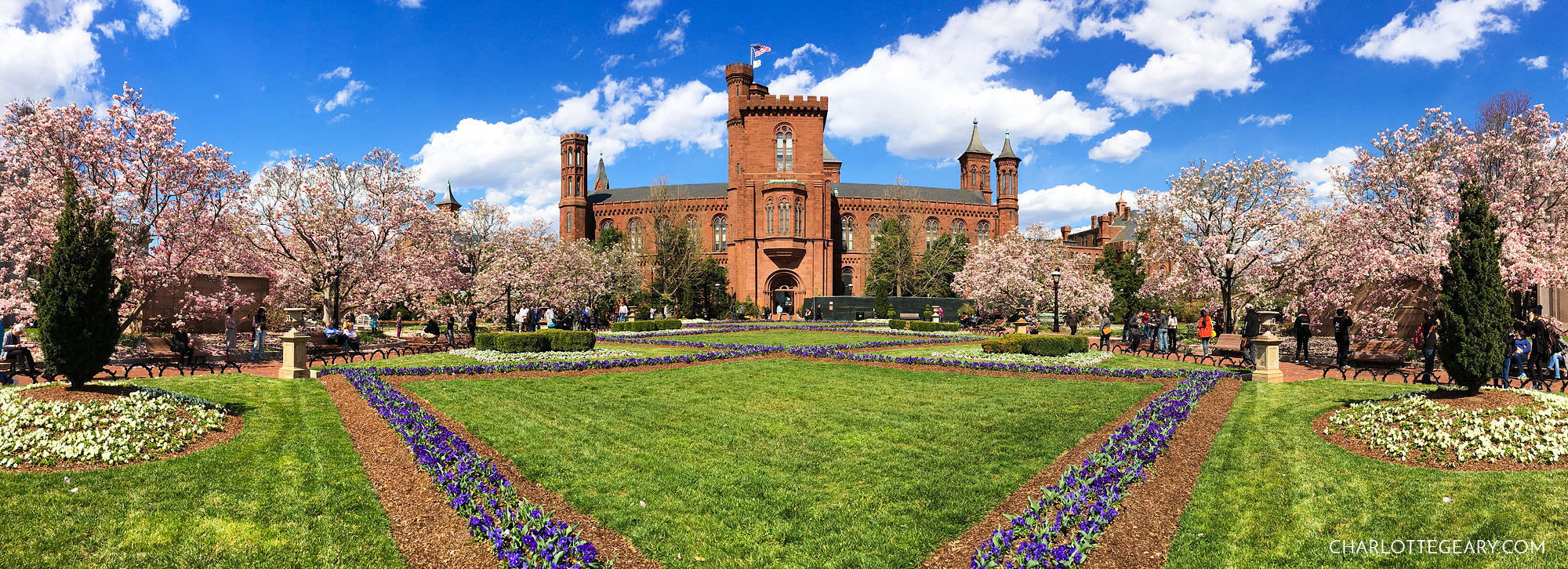The Smithsonian Castle in Washington, D.C.