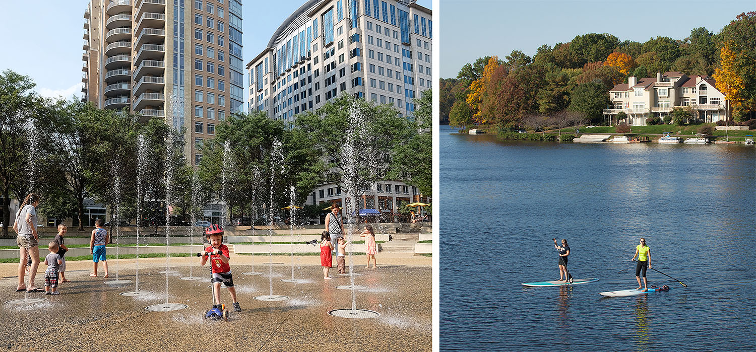 Summer fun in Reston