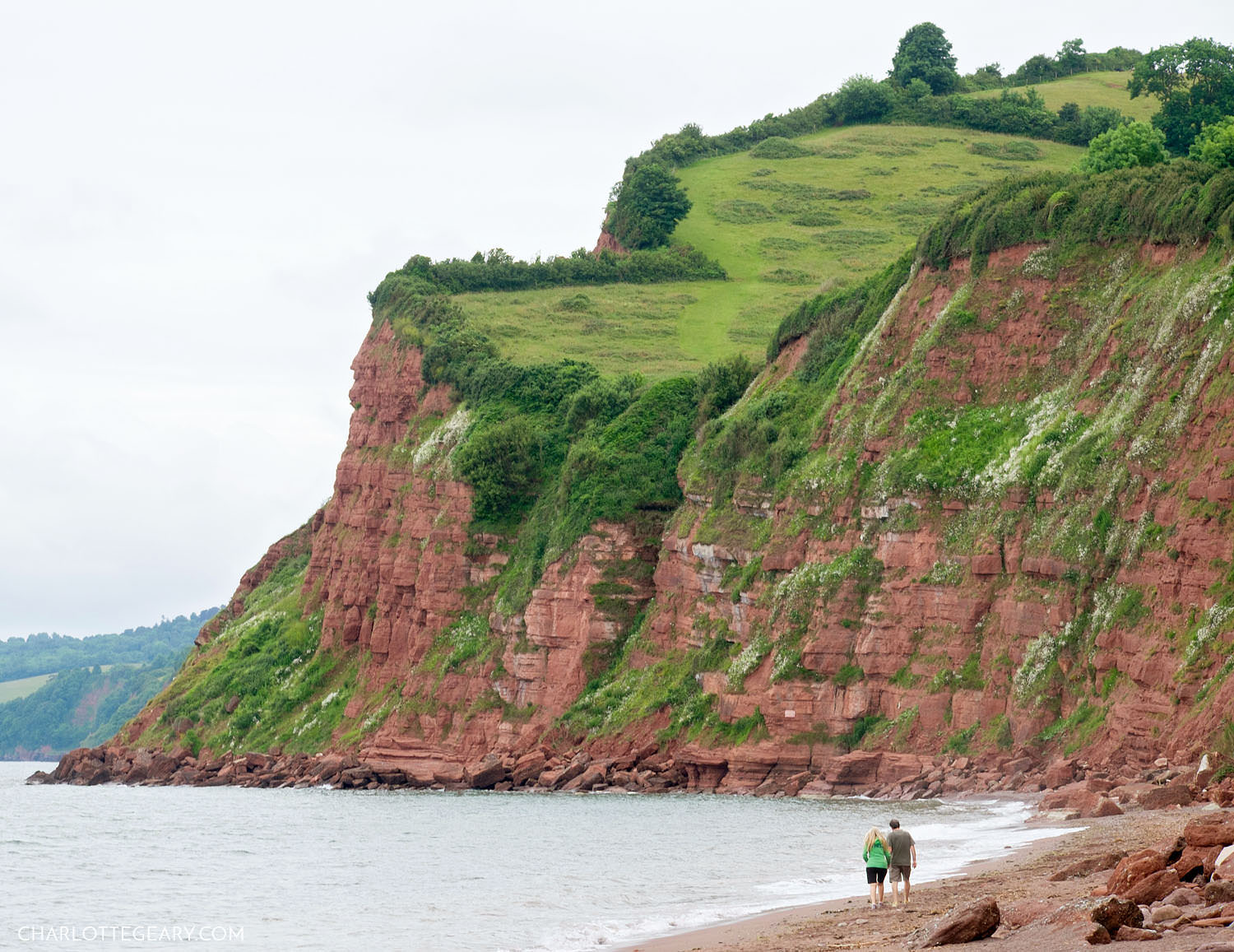 Cliffs of Teignmouth