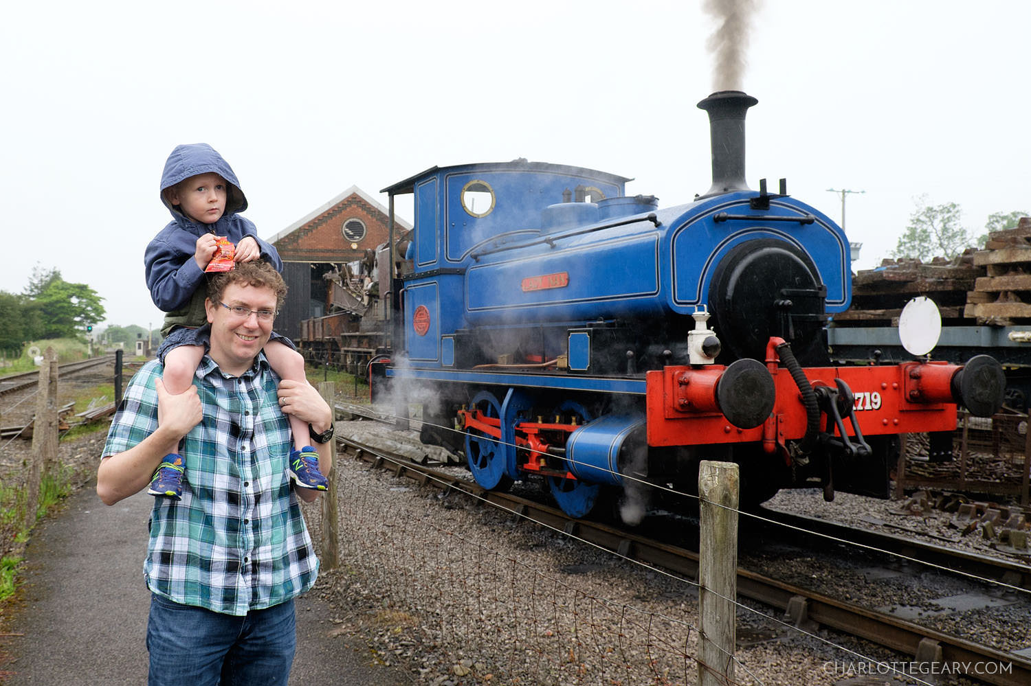 Visiting Thomas the Tank Engine