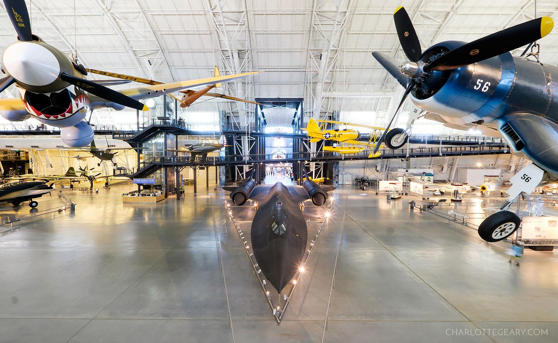 Udvar-Hazy Air and Space Museum in Virginia