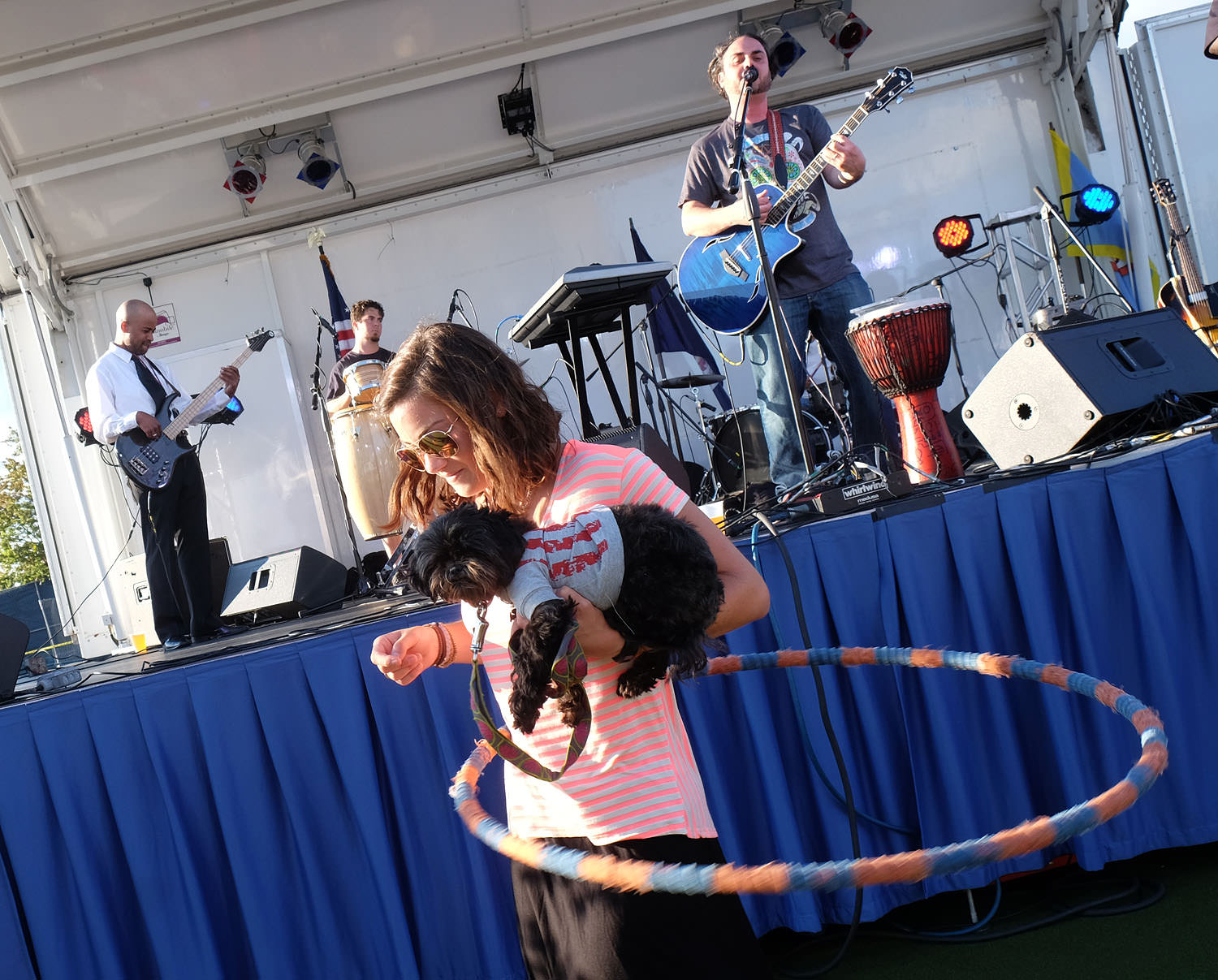Live entertainment at the World Police and Fire Games