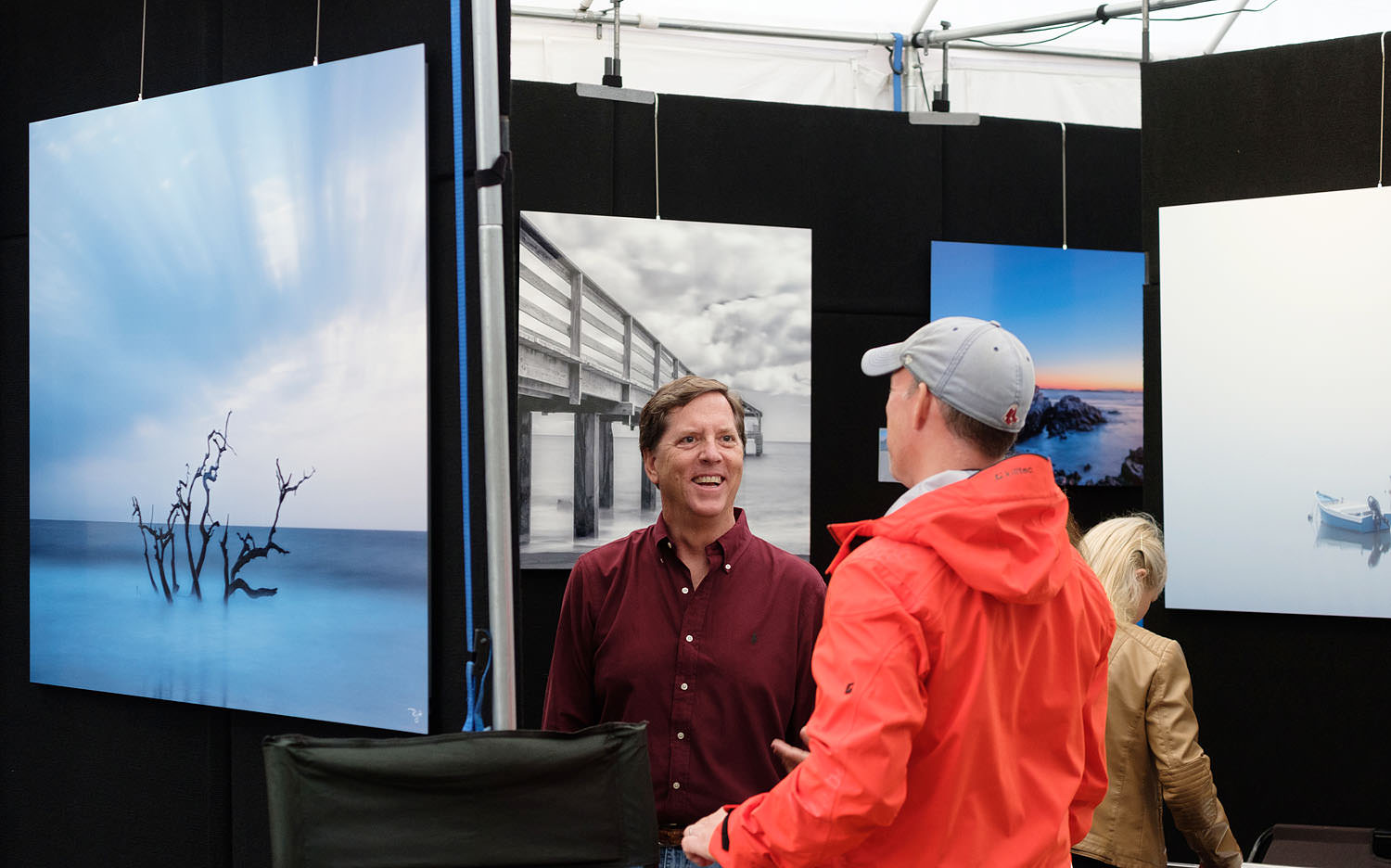 Photographer at the Northern Virginia Fine Arts Festival