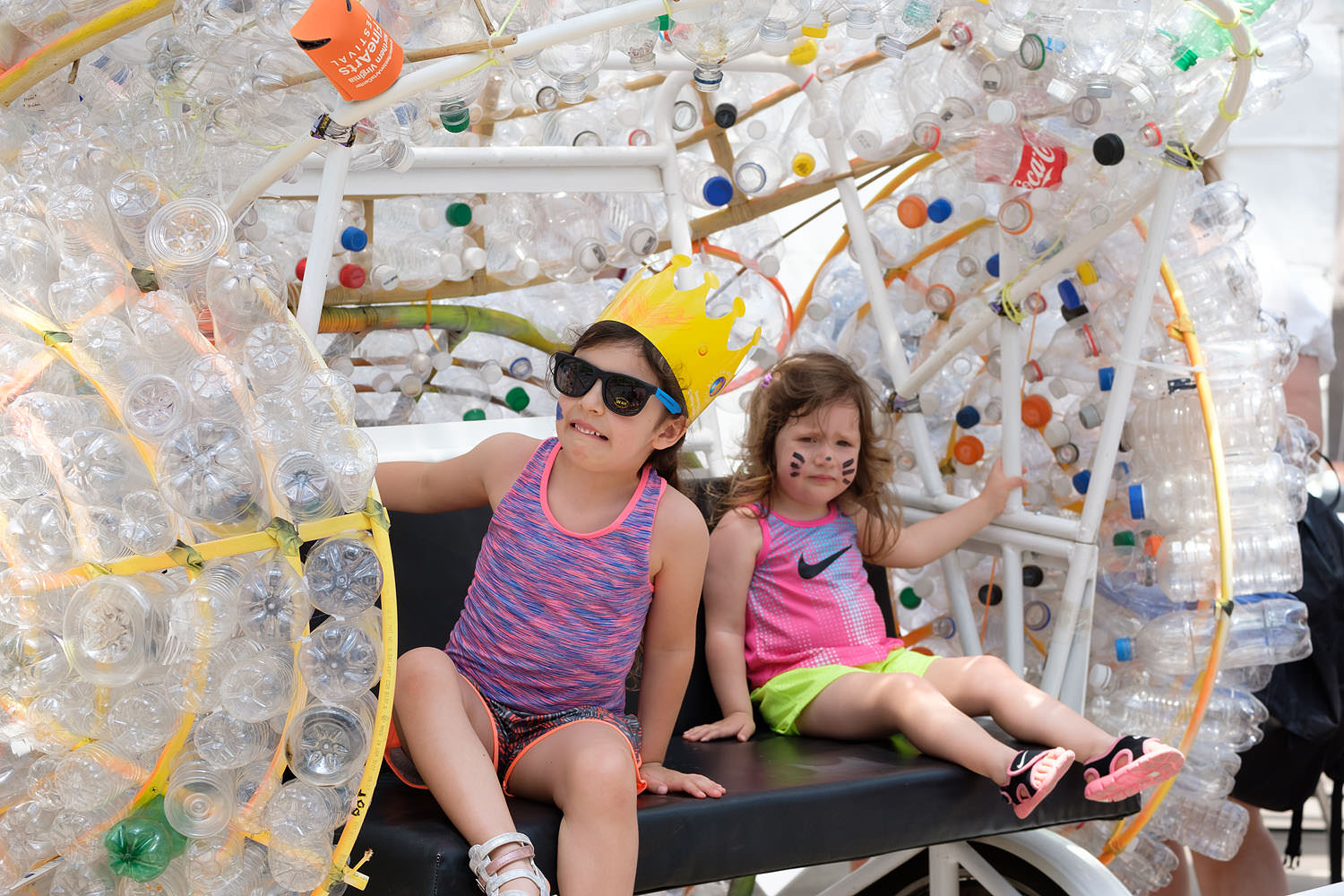 Kids at the Northern Virginia Fine Arts Festival