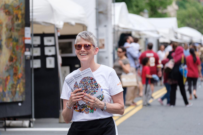 Volunteer at the Northern Virginia Fine Arts Festival