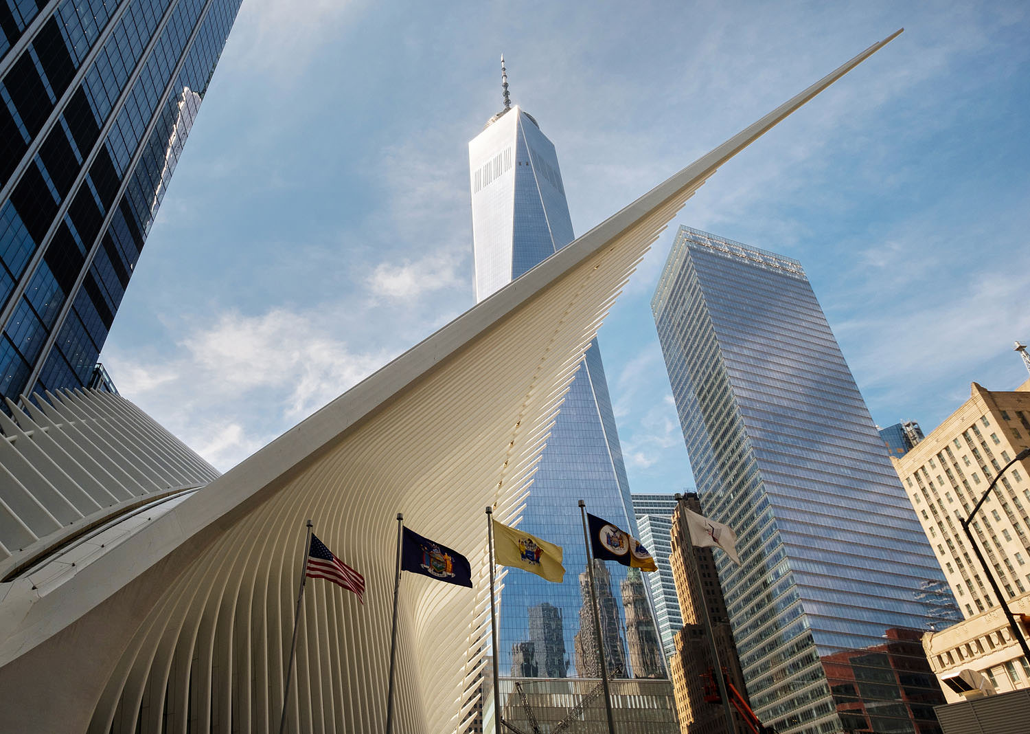 The Oculus and Freedom Tower