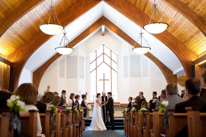 Vail Interfaith Chapel wedding in Colorado