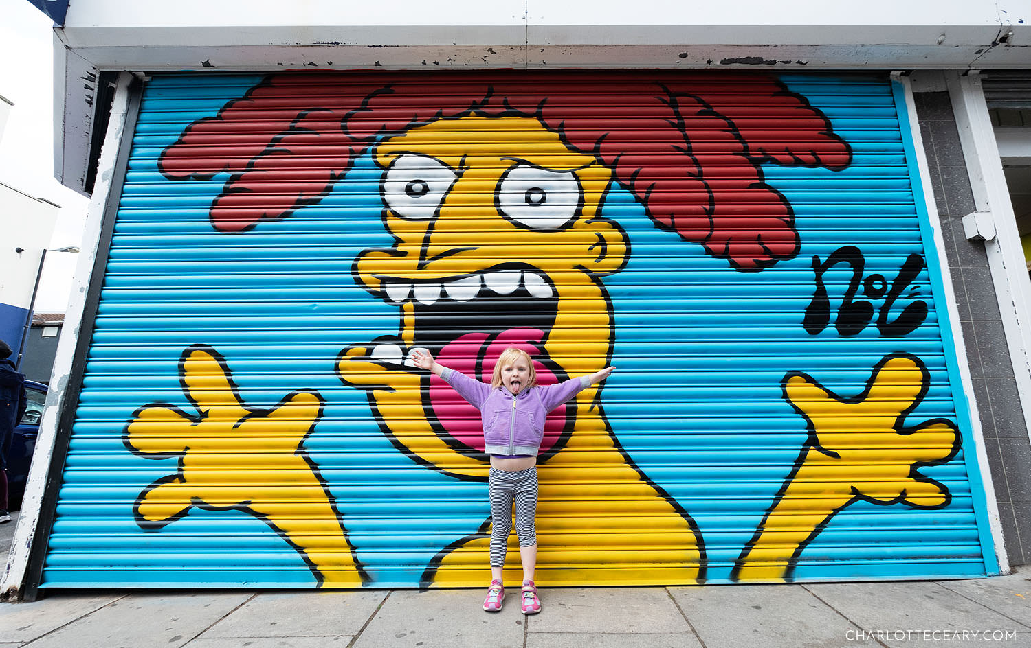 Bristol Upfest Simpsons painting