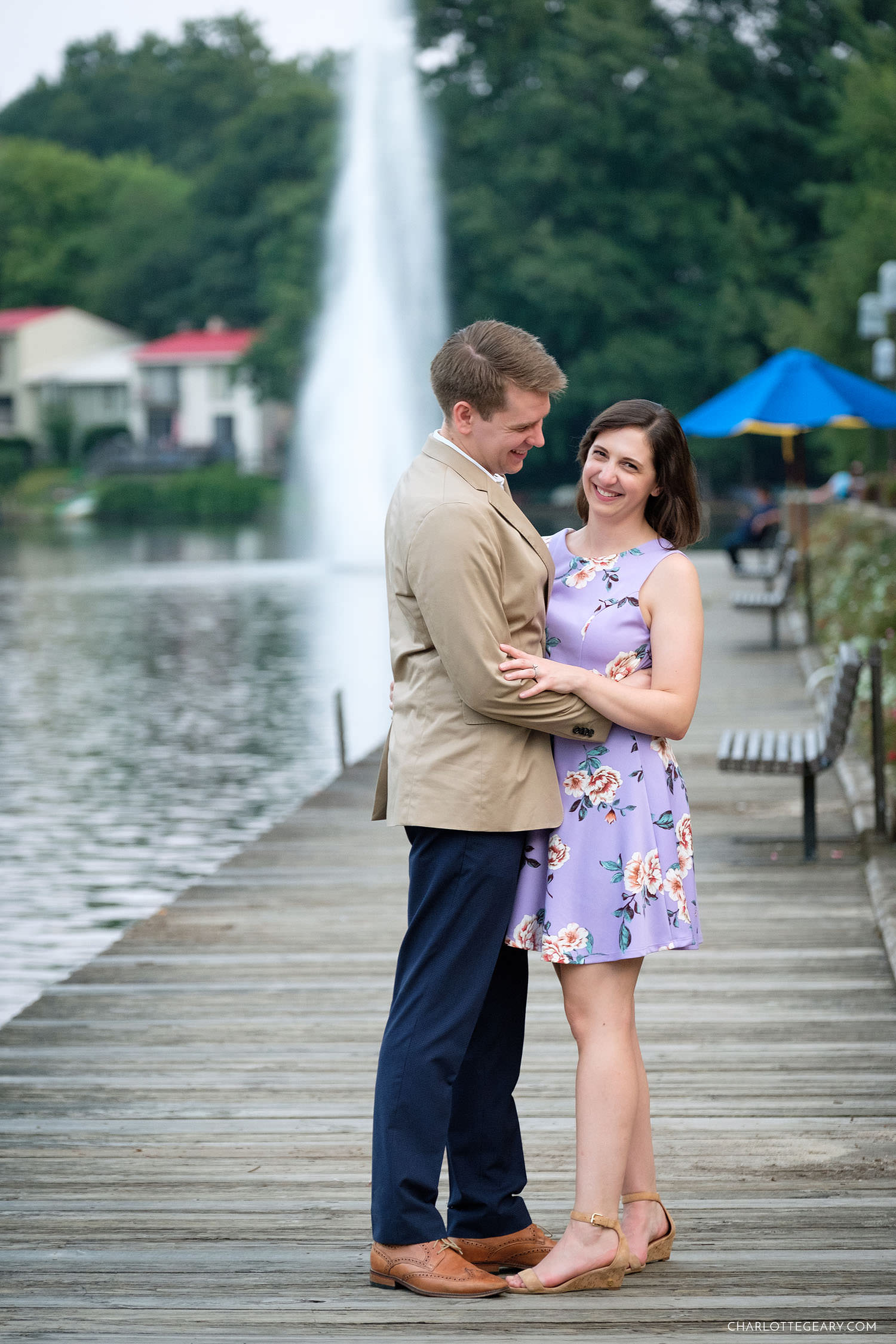 portraits at Lake Anne in Reston, Virginia