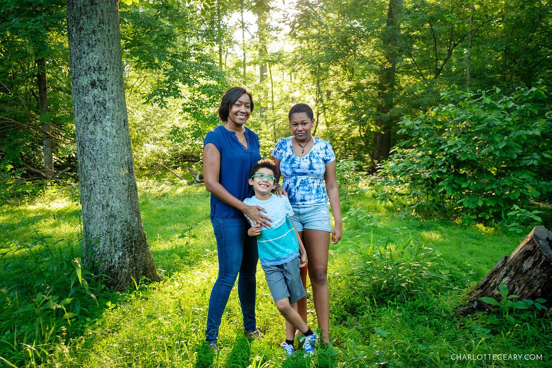 Manassas Battlefield family portraits