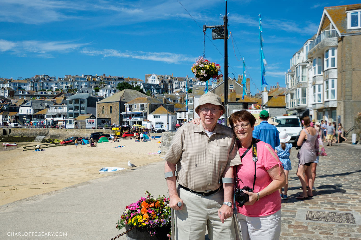 St. Ives Harbour, Cornwall, England