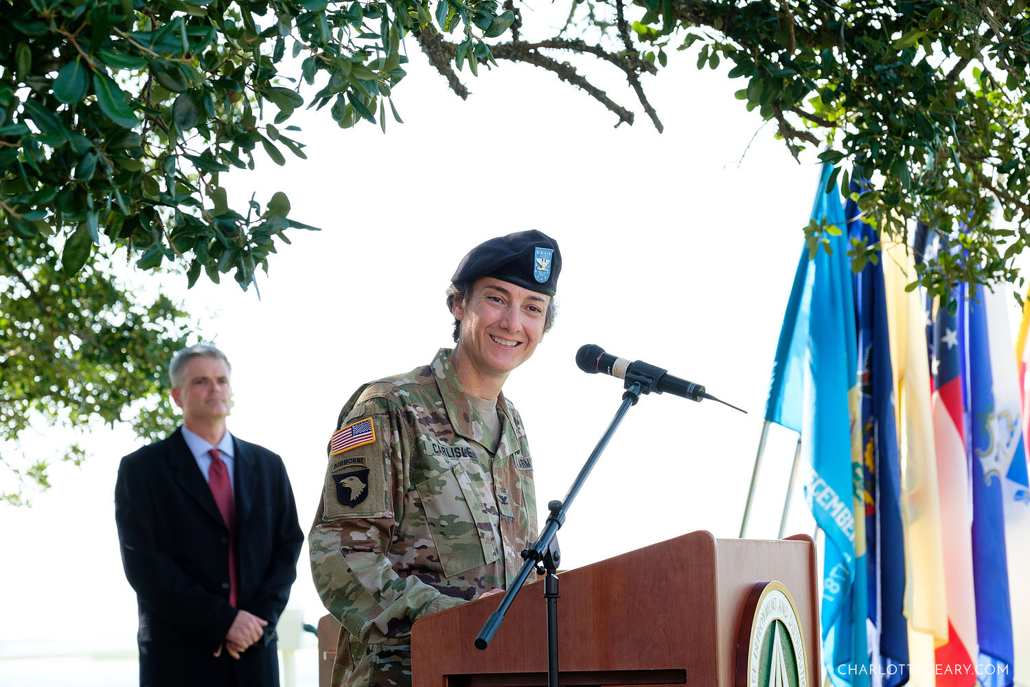 Sunny Point change of command