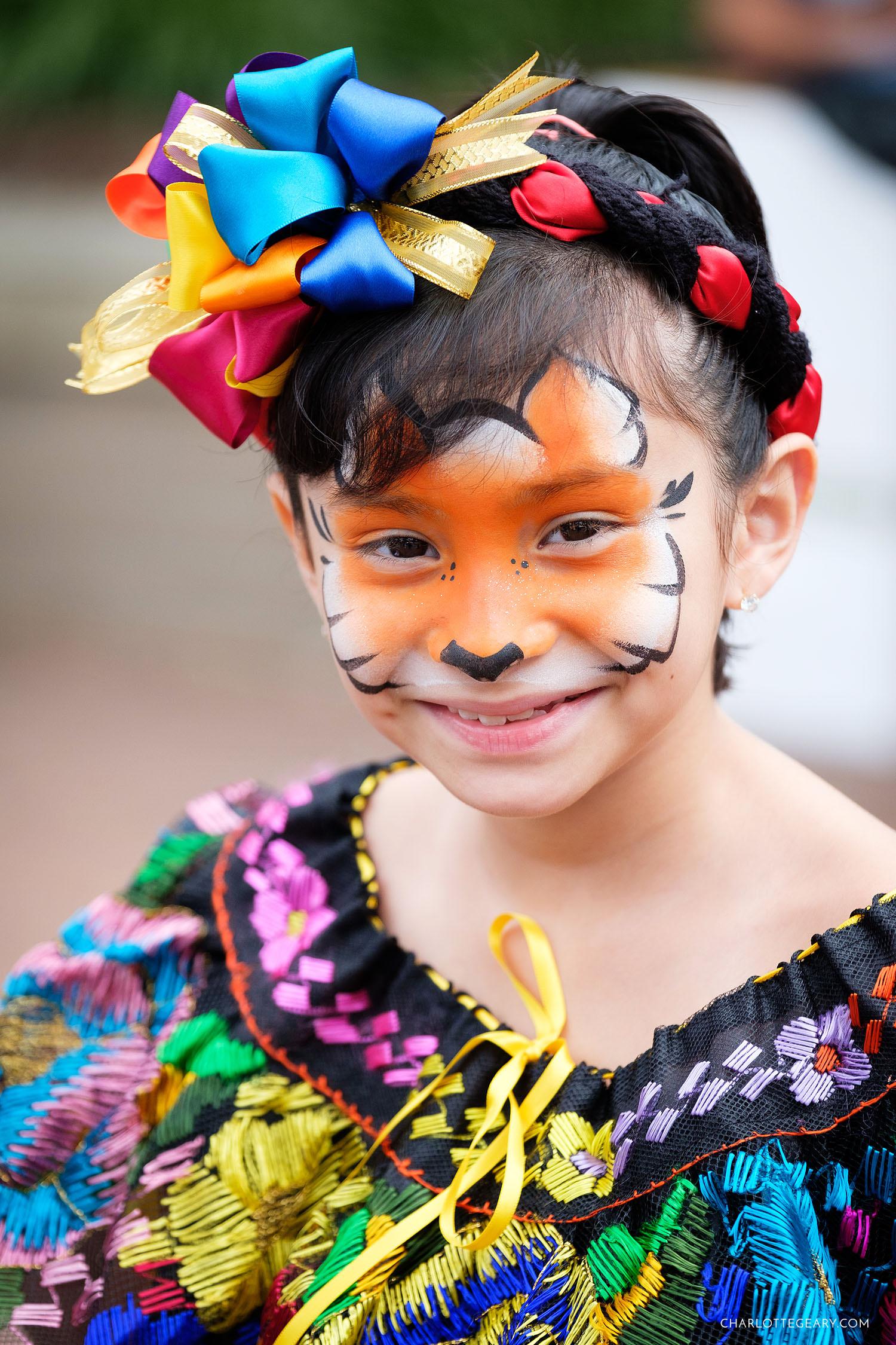 Reston Multicultural Festival child