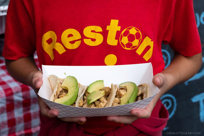 Reston Multicultural Festival food
