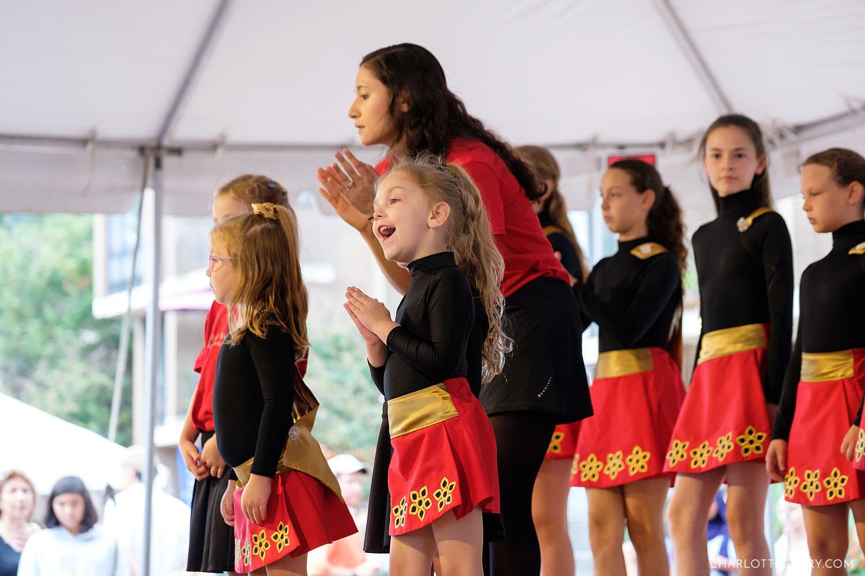 Reston Multicultural Festival Irish dancers