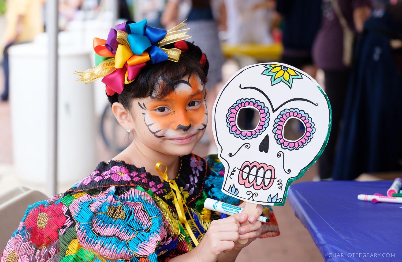 Reston Multicultural Festival children's crafts