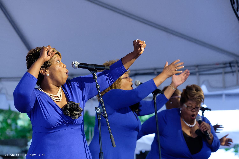 Reston Multicultural Festival gospel