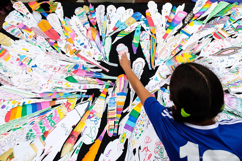 Reston Multicultural Festival crafts