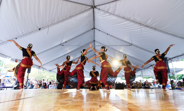 Reston Multicultural Festival Indian dancers