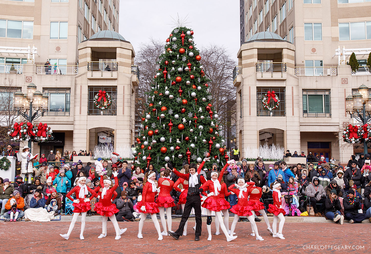 Dancers in the Reston Holiday Parade (Reston, Virginia)