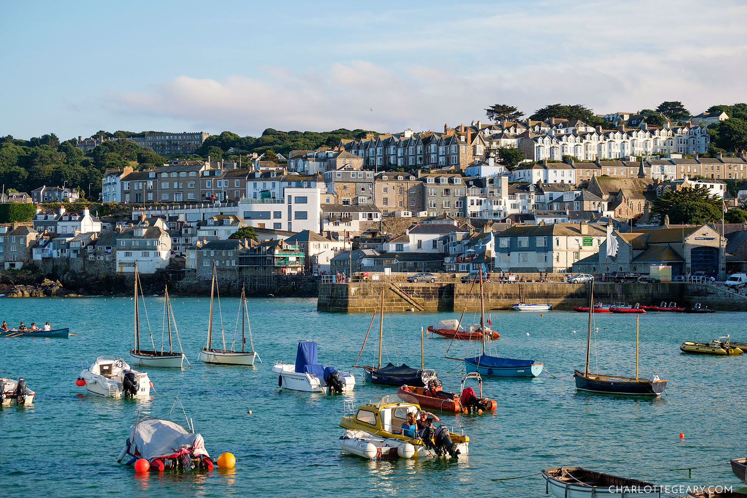 St. Ives Harbour (Cornwall, England)