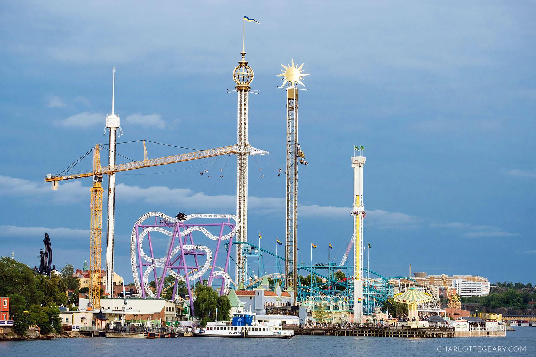 Gröna Lund, Stockholm's waterfront amusement park