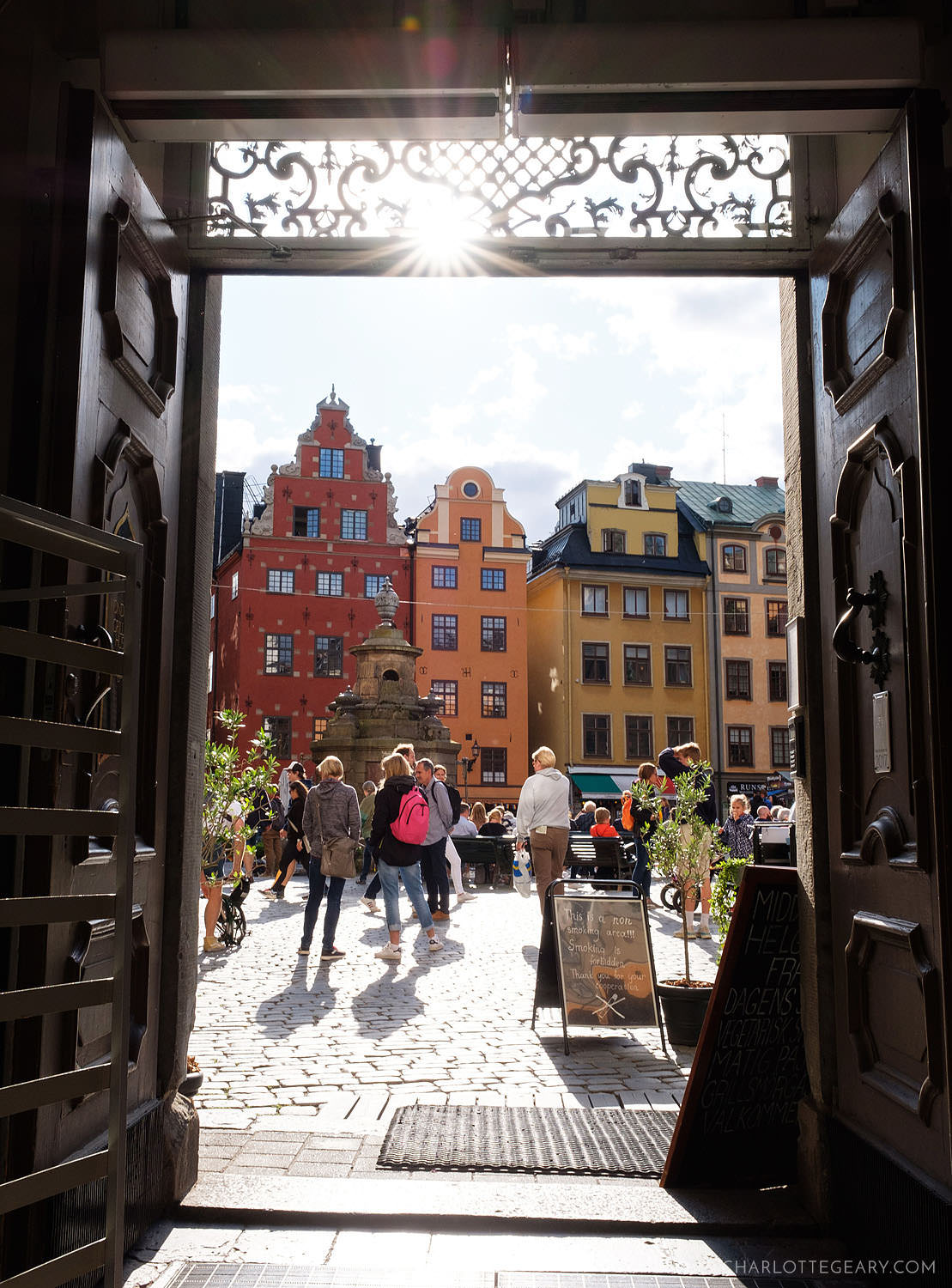 Stortorget, in Stockholm's old town of Gamla Stan
