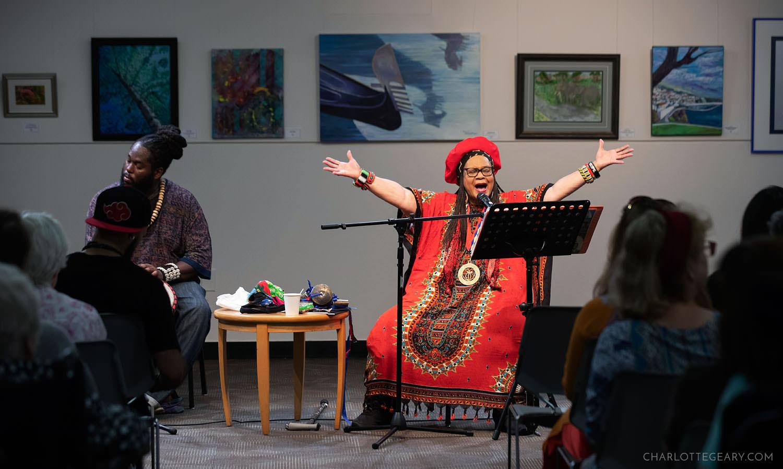 Black Storyteller Linda Goss
