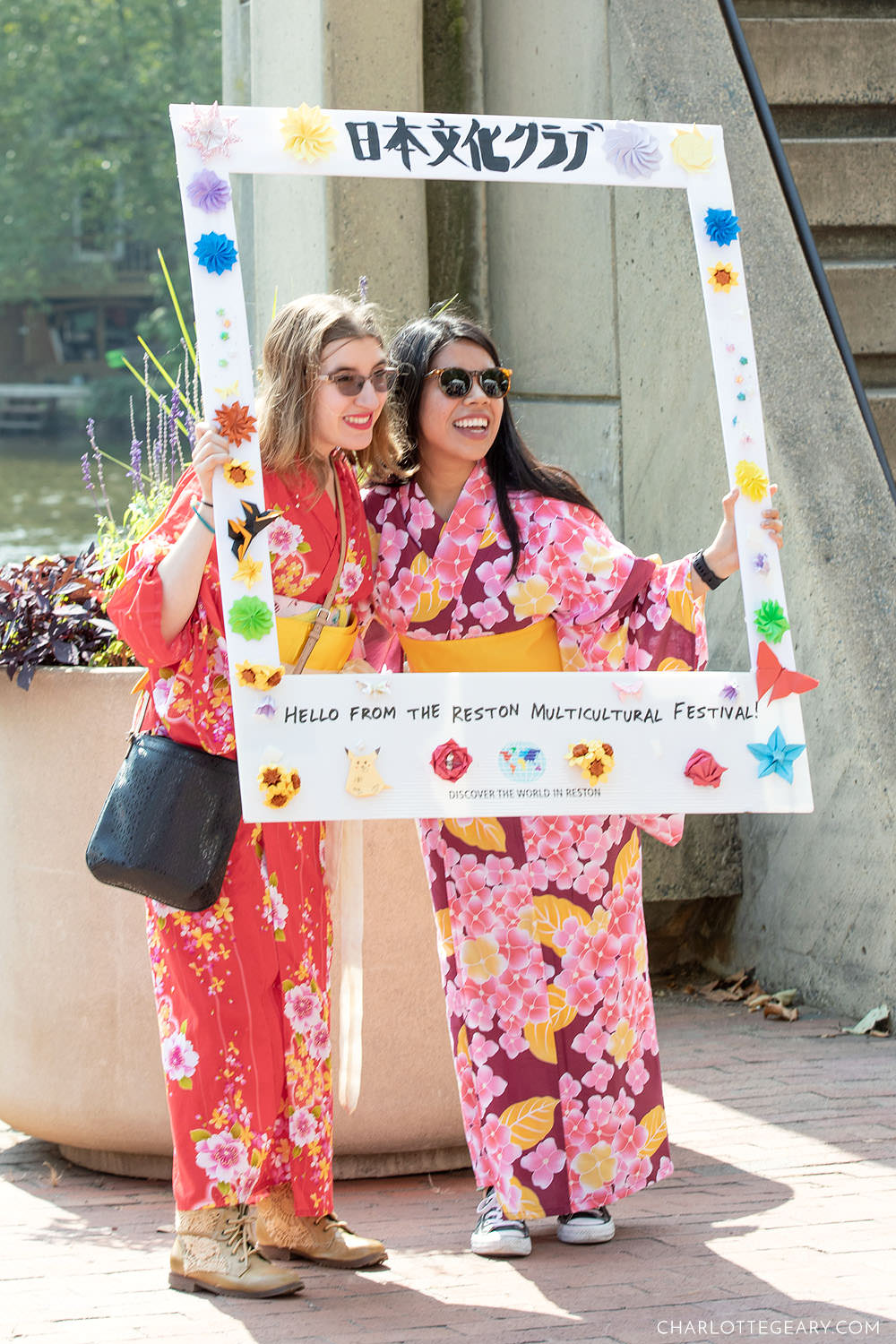 Kimono dress-up booth