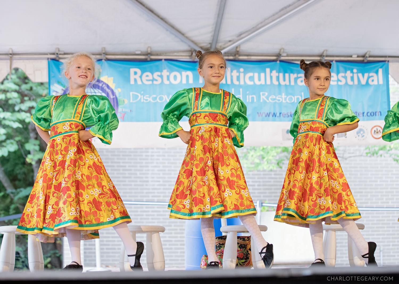 Slavic dancers